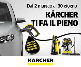 Karcher fino a giugno 18