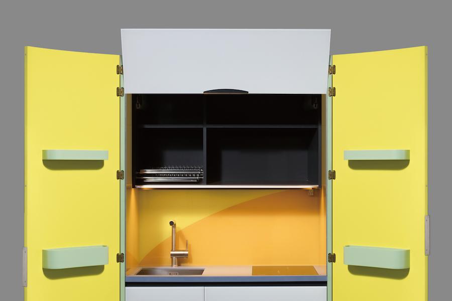 Cucine armadio monoblocco cucina piano cottura inox offertes ottobre cucine chiuse in un - Armadio cucina monoblocco ...