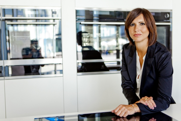 Alessia Gasparini, Trade Marketing Manager Electrolux Appliances
