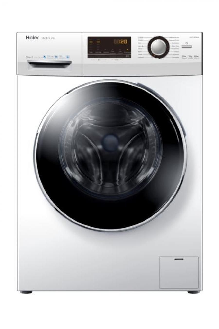 Haier arrivano le lavatrici hatrium supersilenziose for Lavatrice doppio cestello