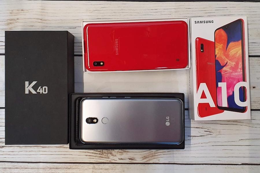 Doppia Recensione Samsung Galaxy A10 Contro Lg K40 Bianco E