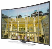 Samsung inventa il tv Ultra HD curvo